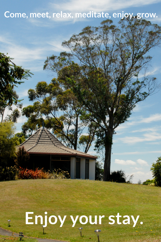 Enjoy your stay at Tauhara Centre