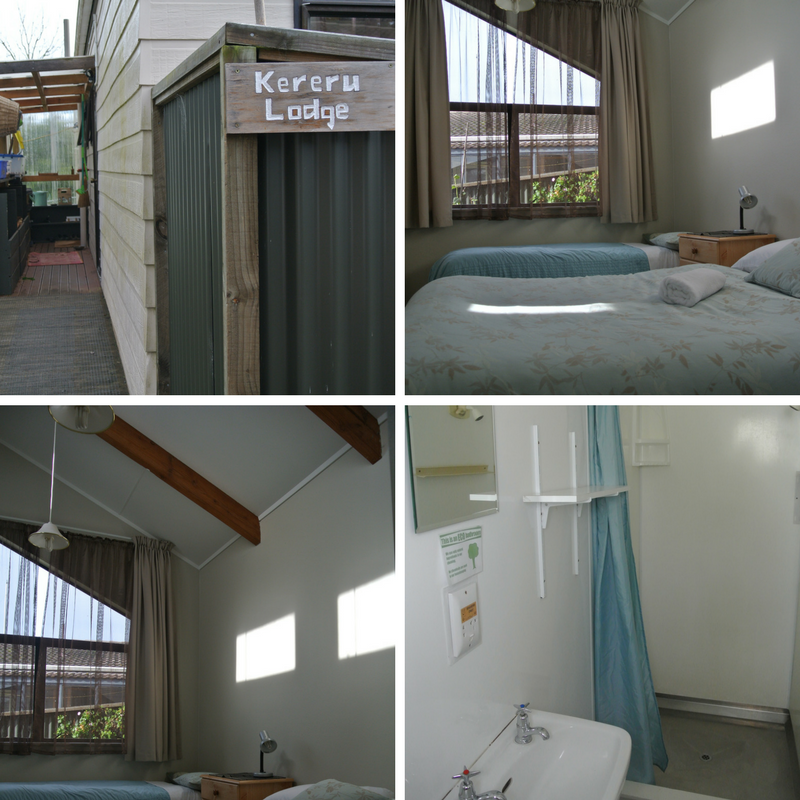 Kereru Lodge accommodation tauhara retreat