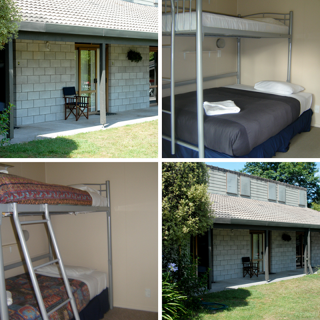 Shared accommodation bunkrooms tauhara retreat