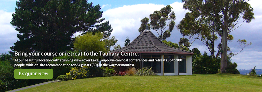 Course Retreat Conference Tauhara Centre